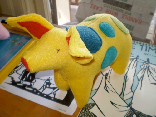 yellow piggy